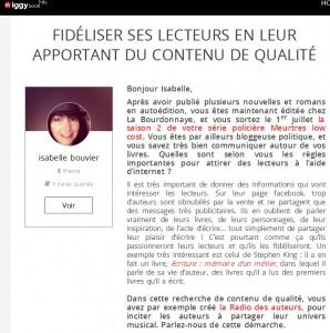 Fidéliser ses lecteurs en leur apportant du contenu de qualité _ Le blog d'iggybook